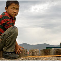 Boy from the town of Moron, Mongolia
